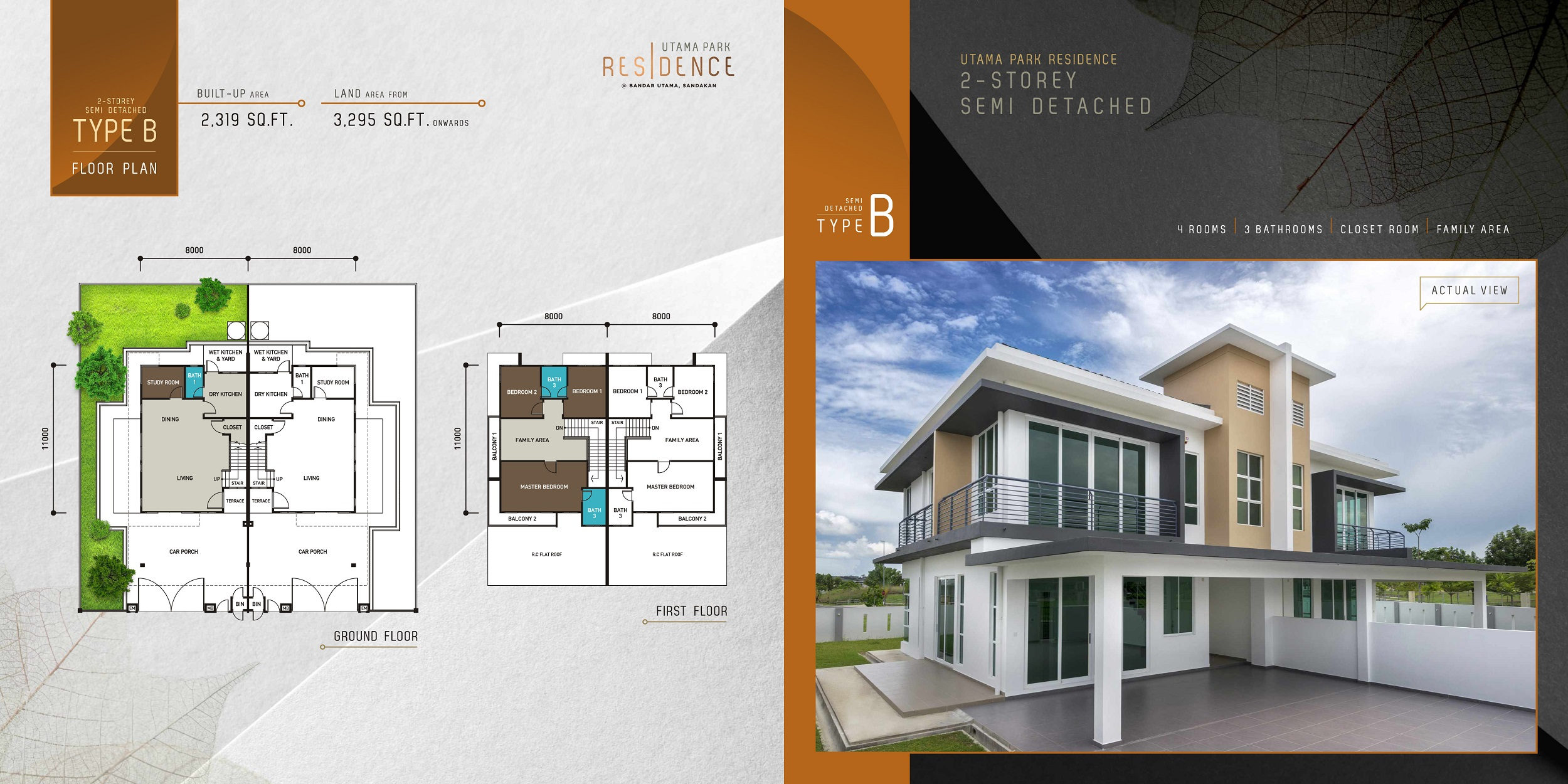 Type B - Semi-Detached